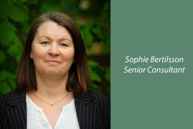 Sophie Bertilsson, Senior Consultant at RegSmart